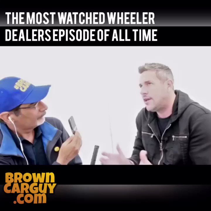 The most watched #WheelerDealer episode of all time! My interview with @AntAnstead of @wheelerdealers here https://t.co/uhrws7C1Ce… #BrownCarGuy https://t.co/53hYUTxlhw