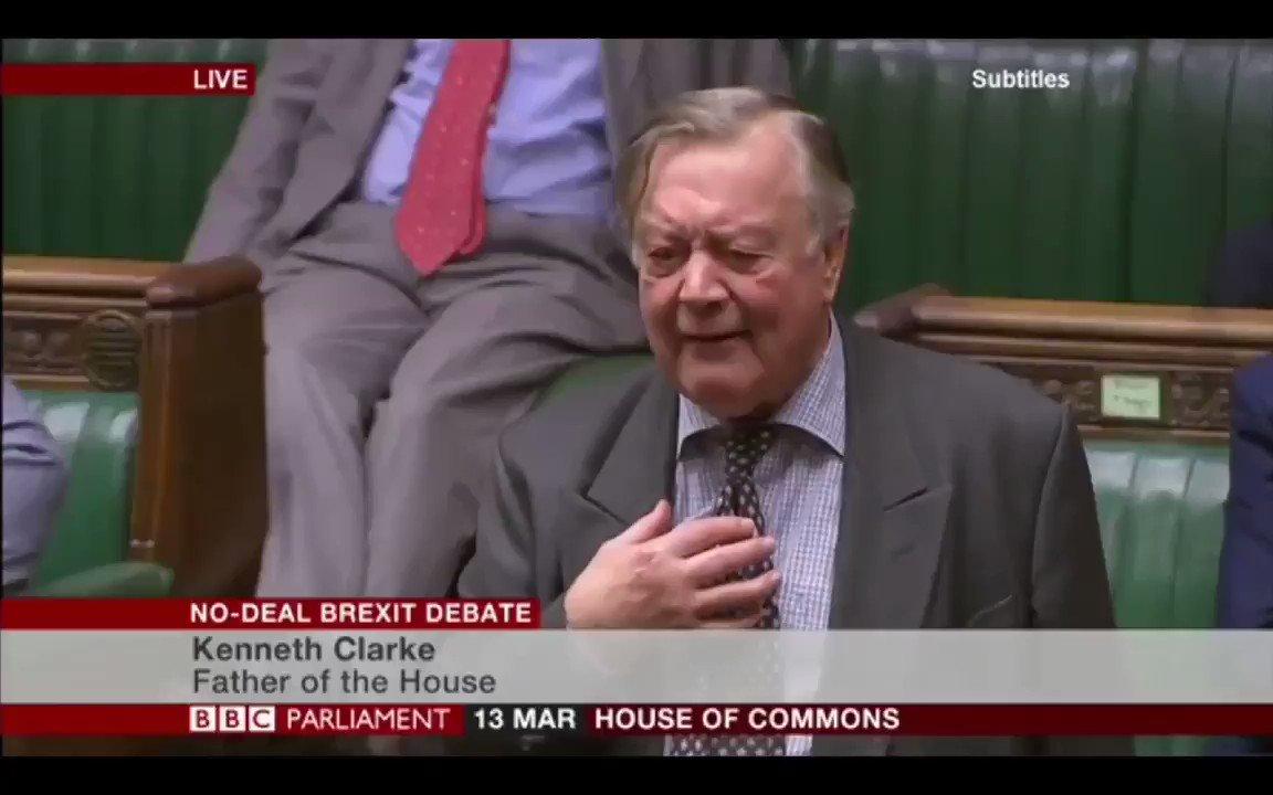 Image for the Tweet beginning: Ken Clarke on a UK-US