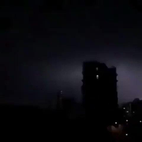 イギリスで発生した雷がかっこいい…