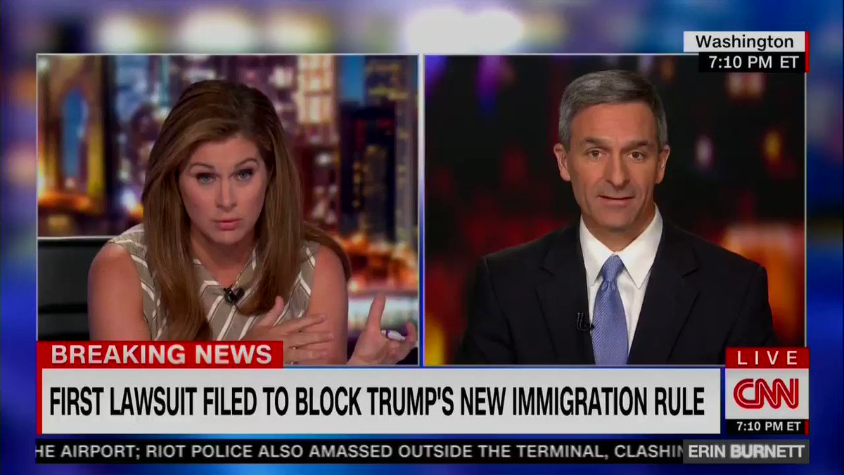 """On CNN last night, acting USCIS director Cuccinelli said the quiet part loud & explained that Statue of Liberty's """"Give me your tired, your poor"""" sonnet was originally """"referring back to people coming from Europe"""" -- as though the distinction between whites & others is meaningful"""