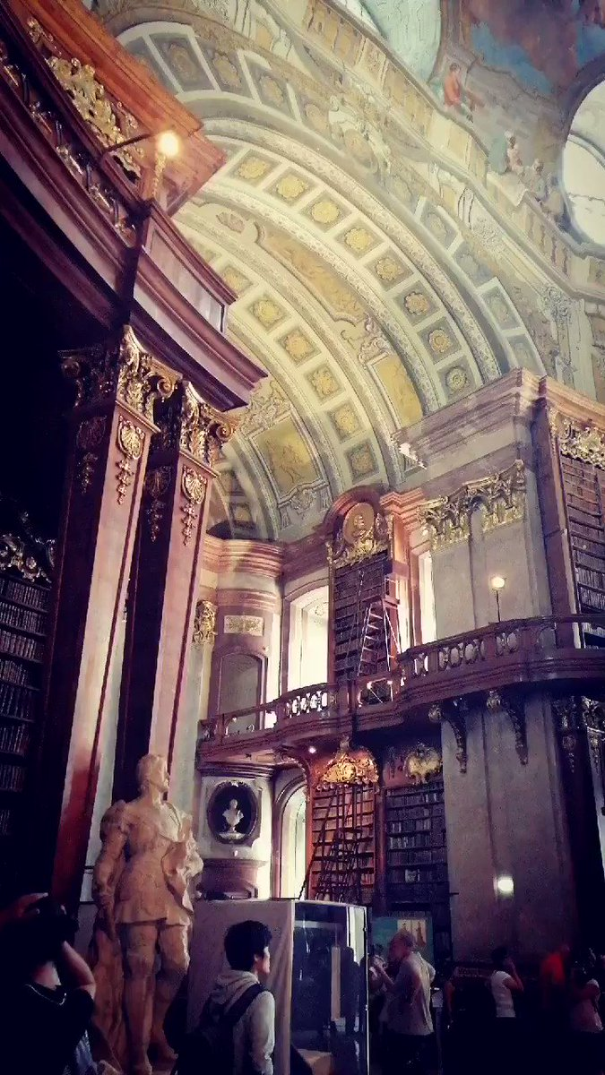 ベルが野獣に贈られた図書館…………………こんなん恋にも落ちるわよ