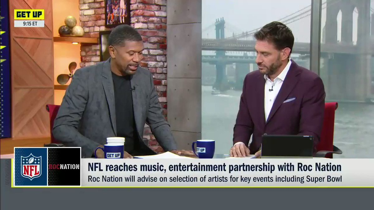 As someone signed to Roc Nation, @JalenRose explains the importance of Roc Nation's partnership with the NFL.