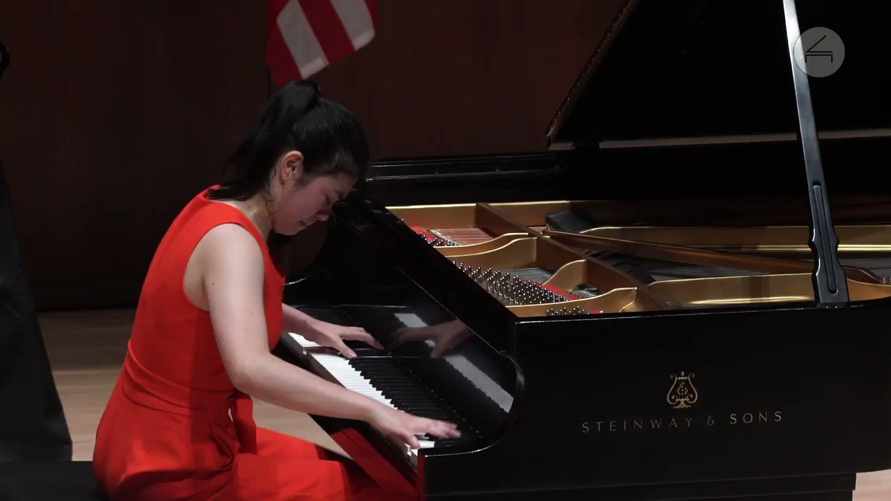 "Watch 17-year-old Avery Gagliano perform Mussorgsky's ""Pictures at an Exhibition"" at the 2019 @TheCliburn Junior."