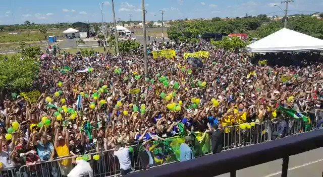 - Recepção calorosa em Parnaíba/Piauí. 🇧🇷