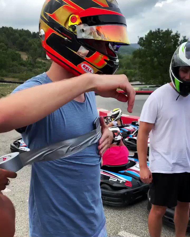 DIY onboard camera 🎥   #Karting #Formulae #mercedes #mercedesbenzeqfe #ABBFormulaE