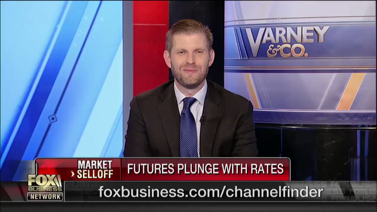 "Stuart was joined by @EricTrump today to discuss the #ChinaTrade and manufacturers leaving China. ""The #tariffs are working on two fronts. We're bringing a lot of money into the treasury and it's stopping their abusive practice and allowing them to negotiate."" #TradeWar #VarneyCo https://t.co/E3SbOl50HK"