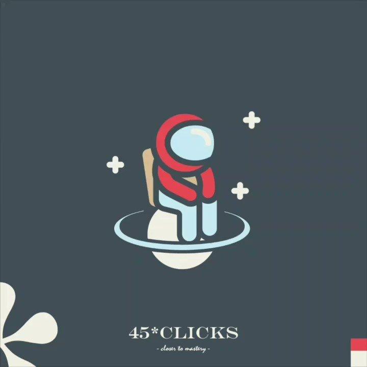 45 clicks closer to mastery.
