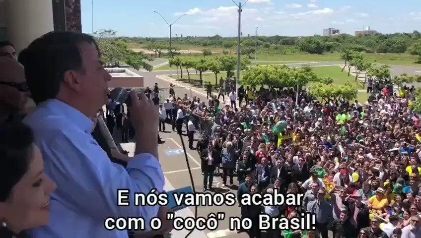 - Vamos acabar com o ... no Brasil!
