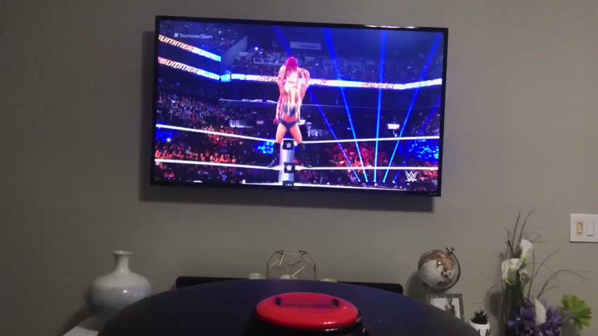 This is awesome! 👏🏻👏🏻👏🏻👏🏻👏🏻Sasha Banks. Charlotte Flair. SummerSlam. 2016. Smark Button -Get one now!http://smarkbutton.com#wwe #nxt #nxtuk #nightofchampions #beckylynch #natalya #boss #wrestling #WrestlingCommunity #sdlive #raw #sashabanks #WomensWrestling