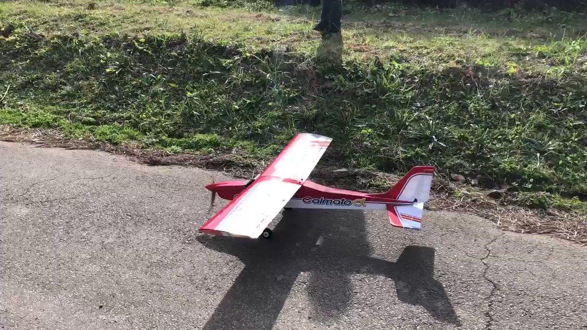 すっかり夏ですね。私の父が制作費10万円、制作期間半年掛けて作った飛行機のプラモデルが満を持して大空に飛び立つ姿、その眼に焼き付けて下さい✈️ちなみにこの日が初フライトです。