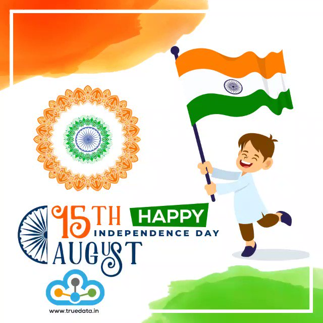 Image for the Tweet beginning: Happy Independence Day !  #IndependenceDayIndia  #IndependenceDay2019
