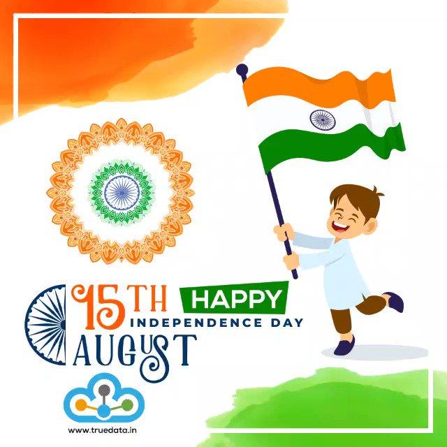 Image for the Tweet beginning: Happy Independence Day !  #IndependenceDayIndia  #IndependenceDay2019