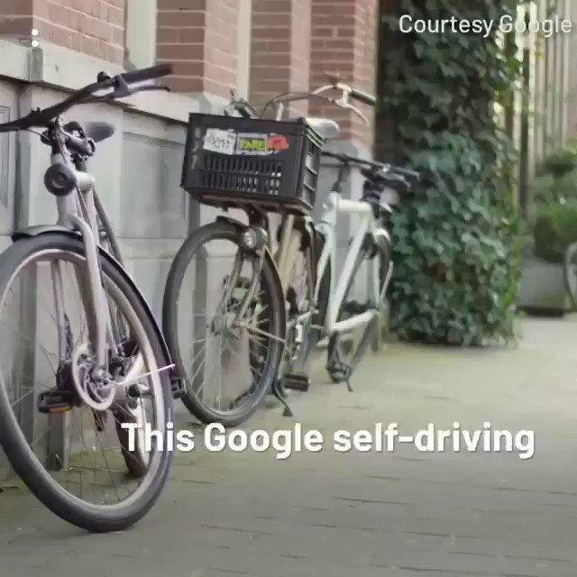 Image for the Tweet beginning: Self-Driving Cycle is Here  Cc @Ronald_vanLoon