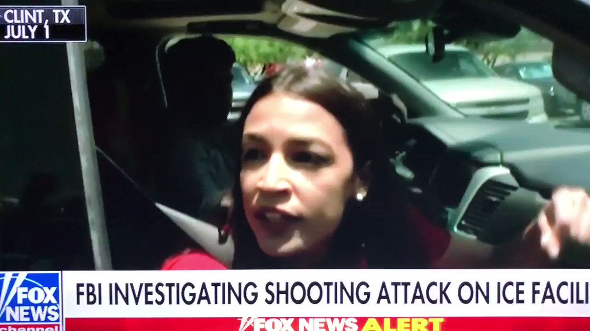 .You're literally inciting violence & causing potential death of @ICEgov officers. You don't care about children b/c theirs are being threatened in broad day light due to yours & @RashidaTlaib's rhetoric. If anything happens to them & their families, the blood is on your hands. twitter.com/aoc/status/115…