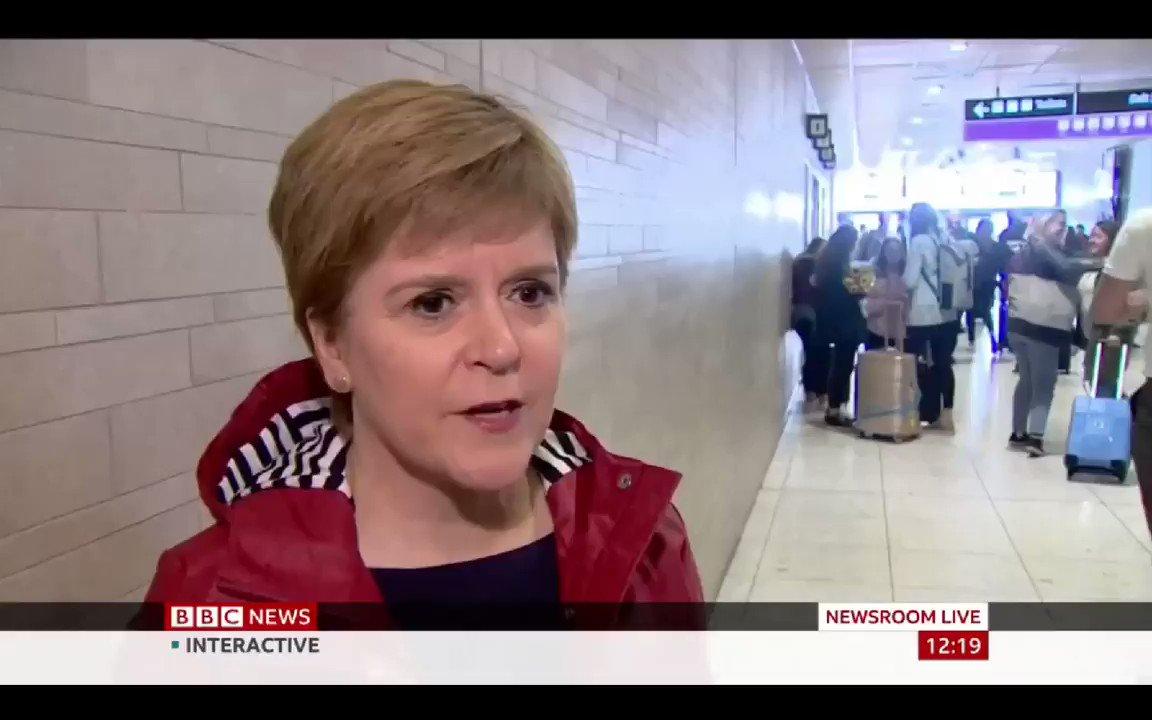 Image for the Tweet beginning: Nicola Sturgeon - The SNP