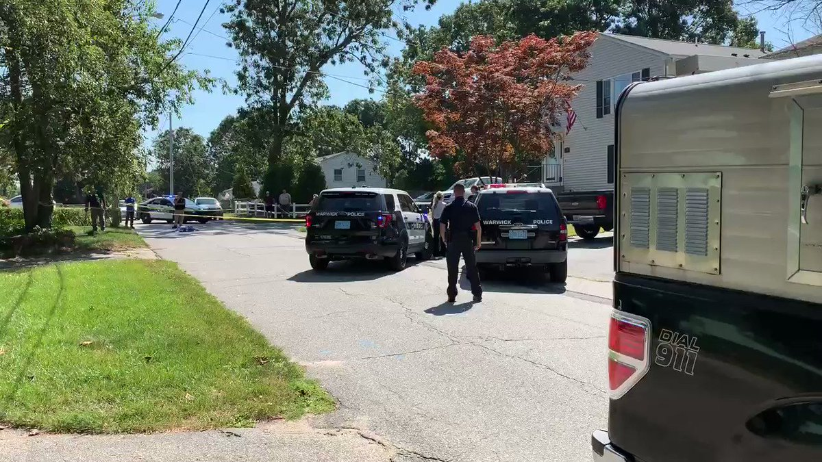 Breaking: Warwick Police say two dogs were shot and killed by an officer this morning. It came after several calls for three dogs roaming the area. @wpri12