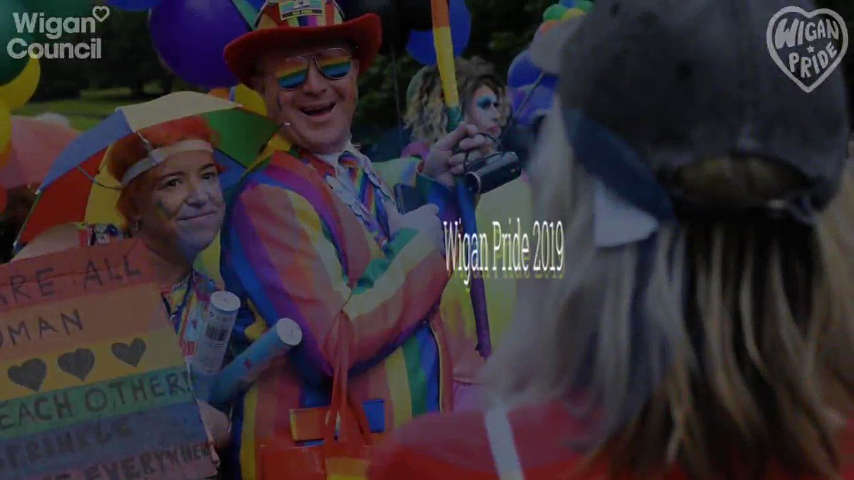 We thought you might enjoy this short video, which captures some of the highlights of last Saturday's Wigan Pride event! If anyone would like to get involved in supporting or sponsoring the event next year, please get in touch by emailing info@wiganpride.com @WiganPrideLGBT 🌈