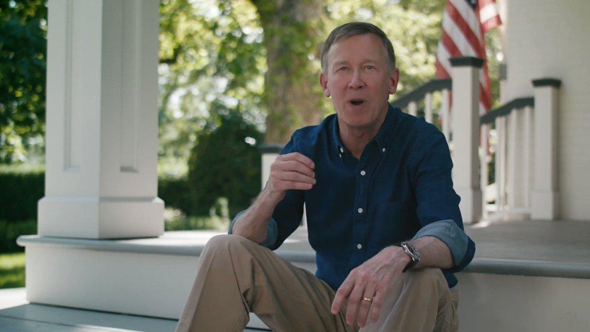Hickenlooper Drops Presidential Bid, May Run For Senate