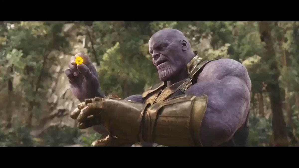 Image for the Tweet beginning: Even Thanos sees the power