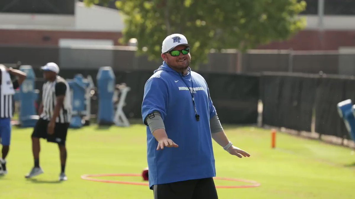 247 Sports ranked Coach Royston (@CoachRoyston_MT) best 30 under 30, and youll see why after watching this micd up! #BlueRaiders   #MT   #EATT