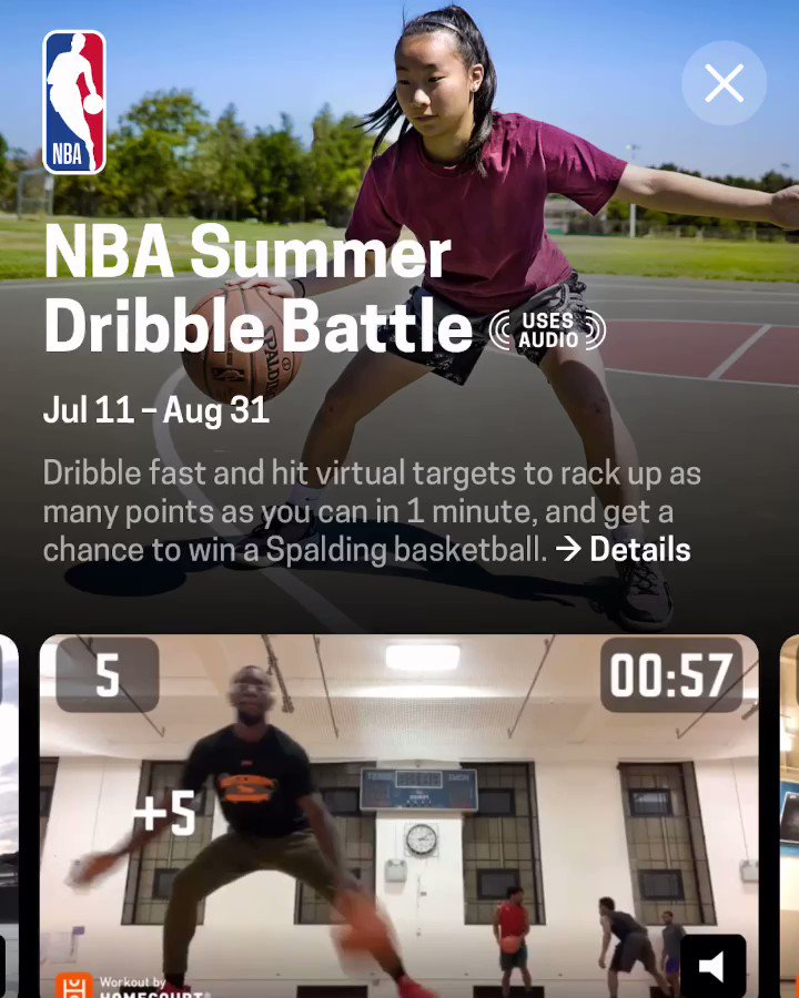 See where you rank by city, state, or country in our @NBA Summer Shootout and Dribble Battle! Are you the top hooper in your city?