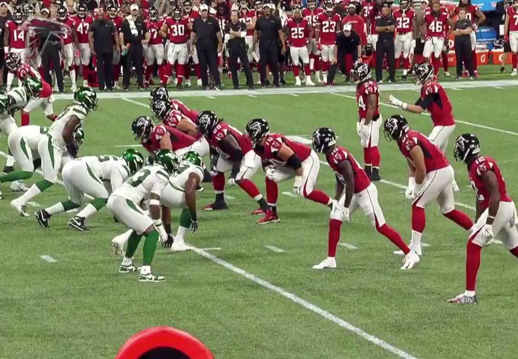 Quinnen Williams Destroyed An Atlanta Falcons Offensive Lineman