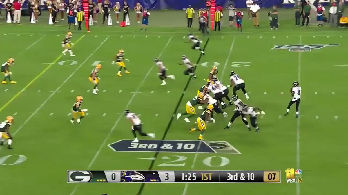 Video: Lamar Jackson Just Made The Best Play Of The Preseason