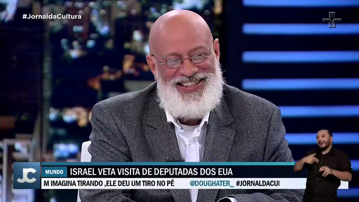 """""""Quando o Bolsonaro fala que isso virou uma indústria de multa, eu não tenho uma dúvida que virou"""". Fala de @lf_ponde no #JornaldaCultura."""