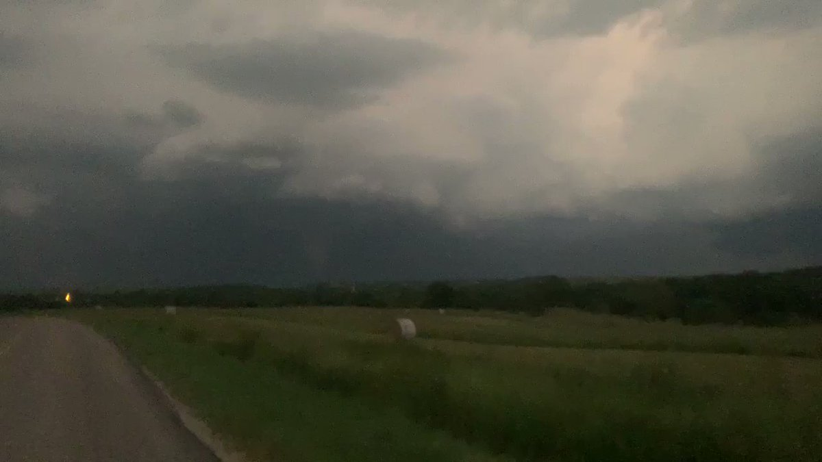 Image for the Tweet beginning: #tornado NE Alta Vista, Kansas