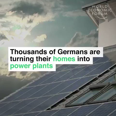 More than a million German buildings now have #solar panels on their roof. We have solutions to the #climate crisis. Lets speed up and implement them. #GreenNewDeal #ActOnClimate #energy #tech #PanelsNotPipelines #go100re