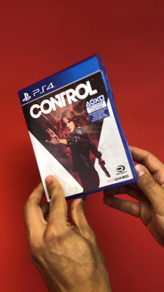 A special kind of bliss! #ControlRemedy #PS4 twitter.com/controlremedy/…