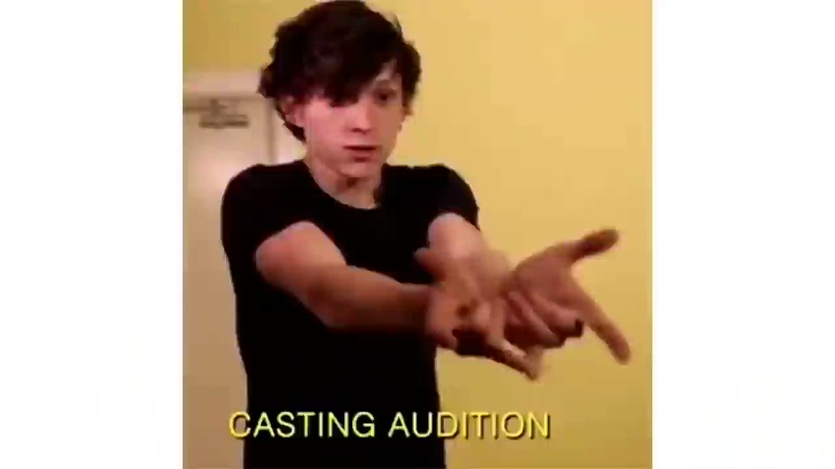 Tom Holland's Audition for Spider-Man
