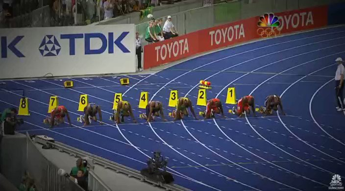 Image for the Tweet beginning: 10 Years Ago Today: @usainbolt