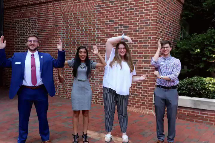 U-N-C, U-N-C, U-N-C! Campus is bustling with students returning and it has us jumping for joy! #UNCPharmacy 🐑💙 https://t.co/FTVwLSYb9m
