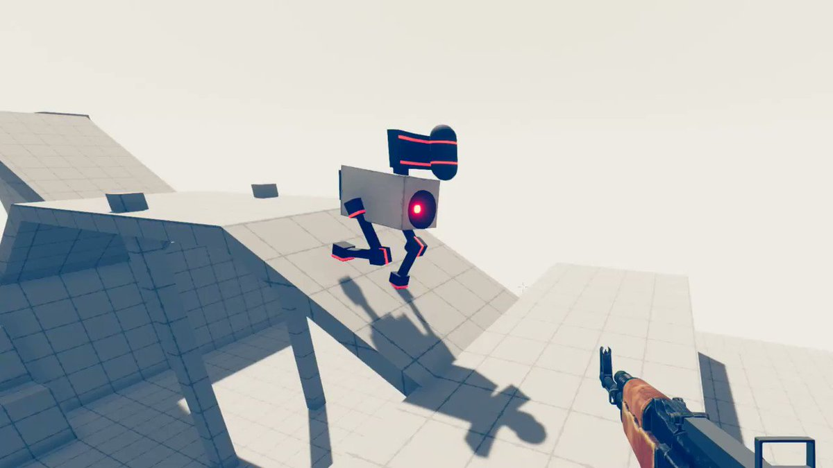 First iteration of randomly generated robots