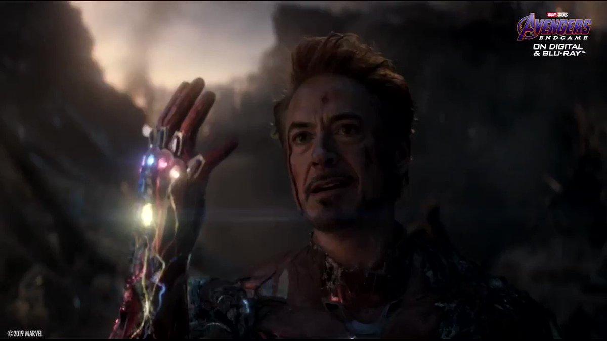 """""""I am Iron Man."""" #AvengersEndgame https://t.co/vMhKktDrRi"""