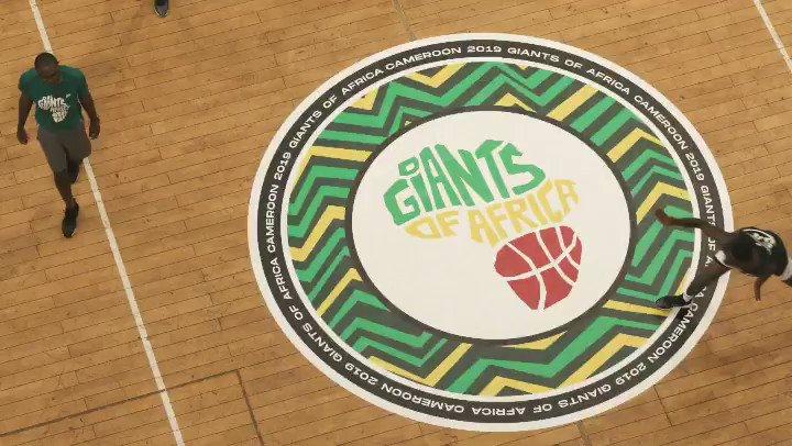I am a Giant! 🇨🇲 #humblehustle🙏🏾👏🏾 @GiantsOfAfrica