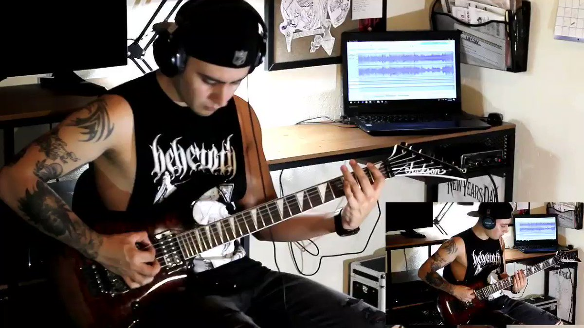 Slipknot - Unsainted (Guitar cover) #slipknot youtu.be/mtKCt1wslRA
