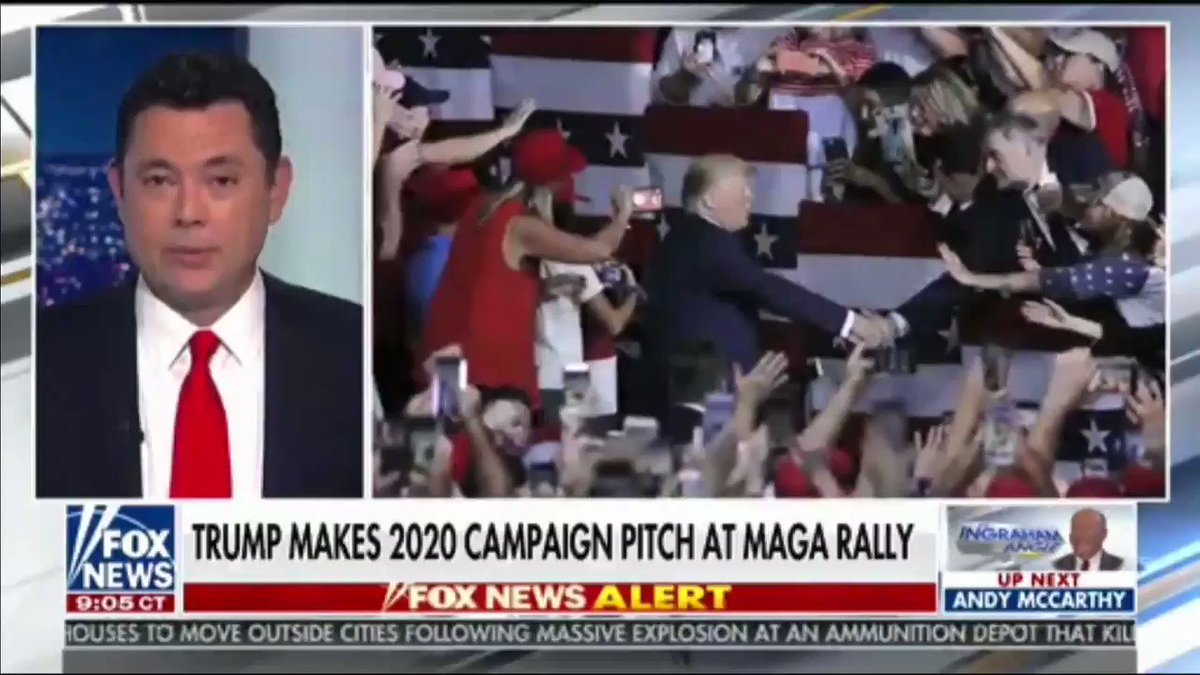 """.@kayleighmcenany on last night's @realDonaldTrump's rally in NH👇 """"The energy was incredible…People came all the way from Massachusetts and all over the New England corridor because Blue State voters have been left behind by Democrats."""""""