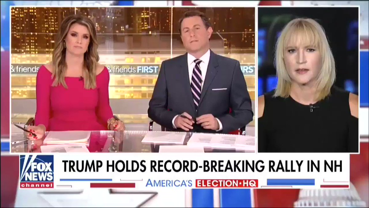 """""""[@realDonaldTrump] is delivering on the promises hes made."""" -@LizRNC"""