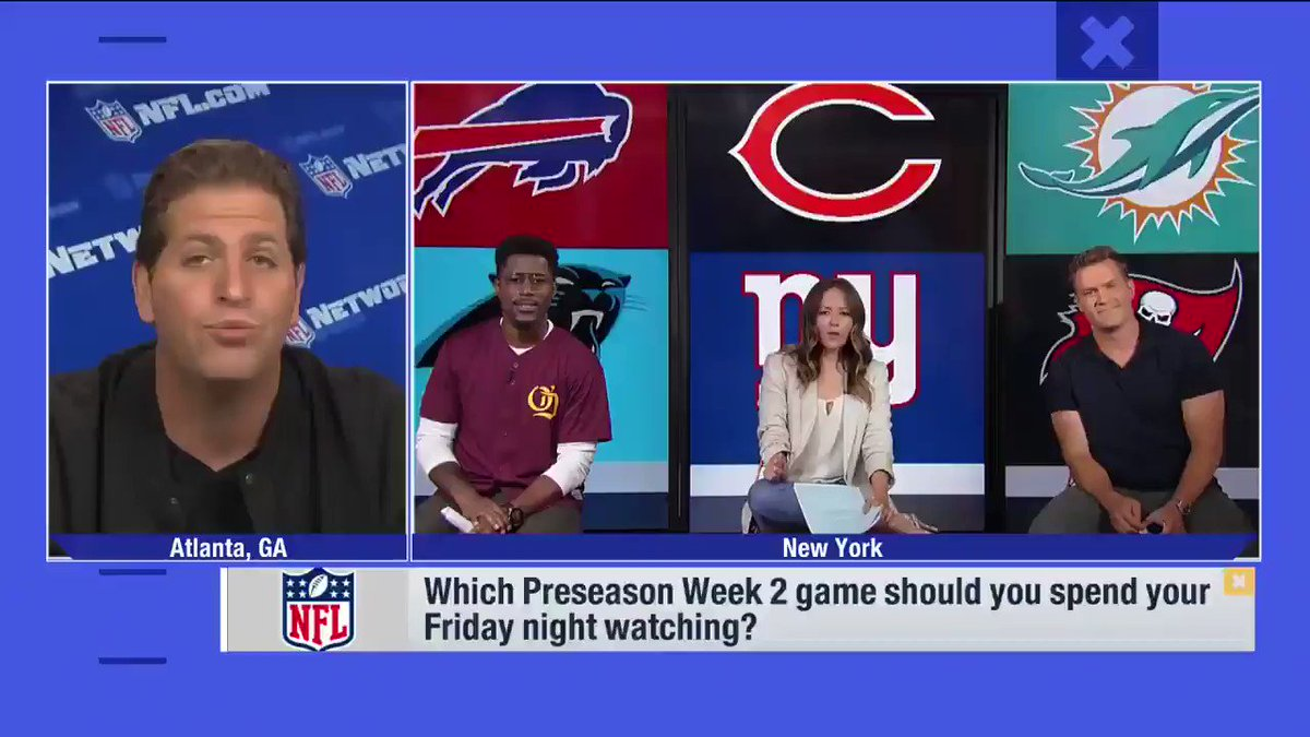 Who should you be keeping your 👀 on in tonights #NFLPreseason action? @heykayadams answer is easy: @MontgomerDavid (via @gmfb) 📺: #CHIvsNYG TONIGHT (7:30pm ET) on NFL Network (or check local listings)