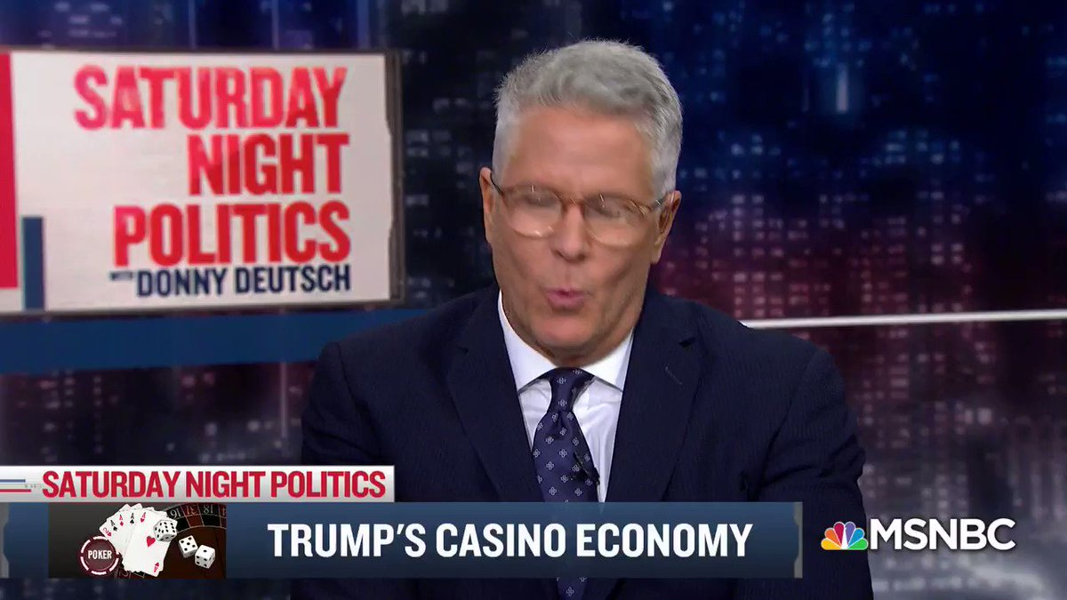 """@JoyceWhiteVance on SNP last night said, """"Trump, as a businessman, his style was conflict and brinkmanship. He did deals with other people's money and that ... led to a string of failed businesses and bankrupt casinos. And his style as a president has been exactly the same"""" https://t.co/QAOszsFtuS"""