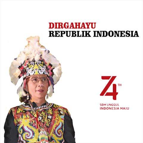 Dirgahayu Indonesia yang ke 74, Indonesia bersatu, maju, adil & makmur 🇲🇨🇲🇨🇲🇨🇲🇨🇲🇨👍👍👍👍👍