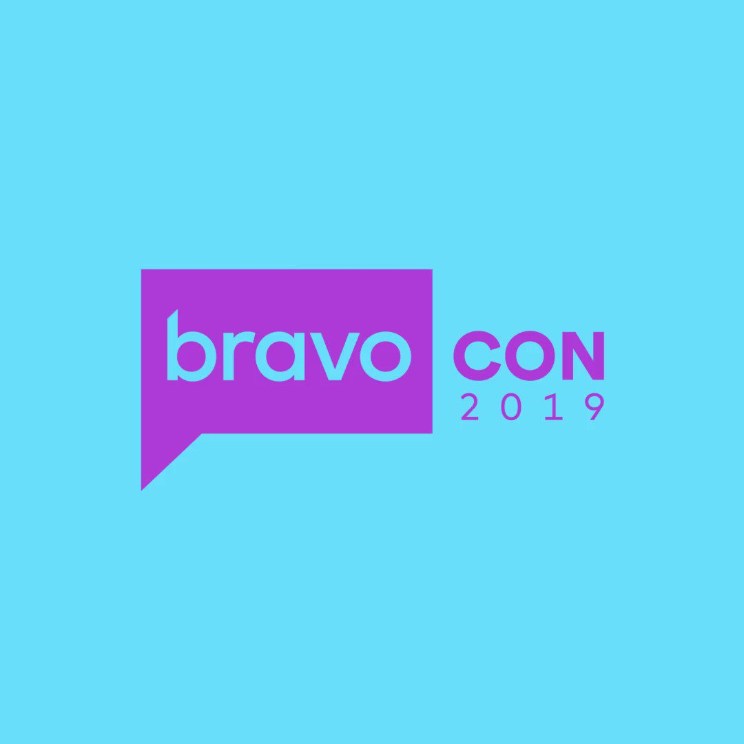 Can't wait for #BravoCon this November!