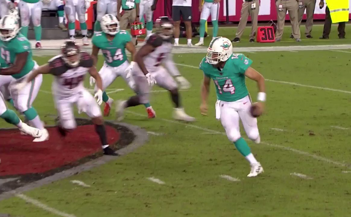 Fitzmagic is running wild in Florida