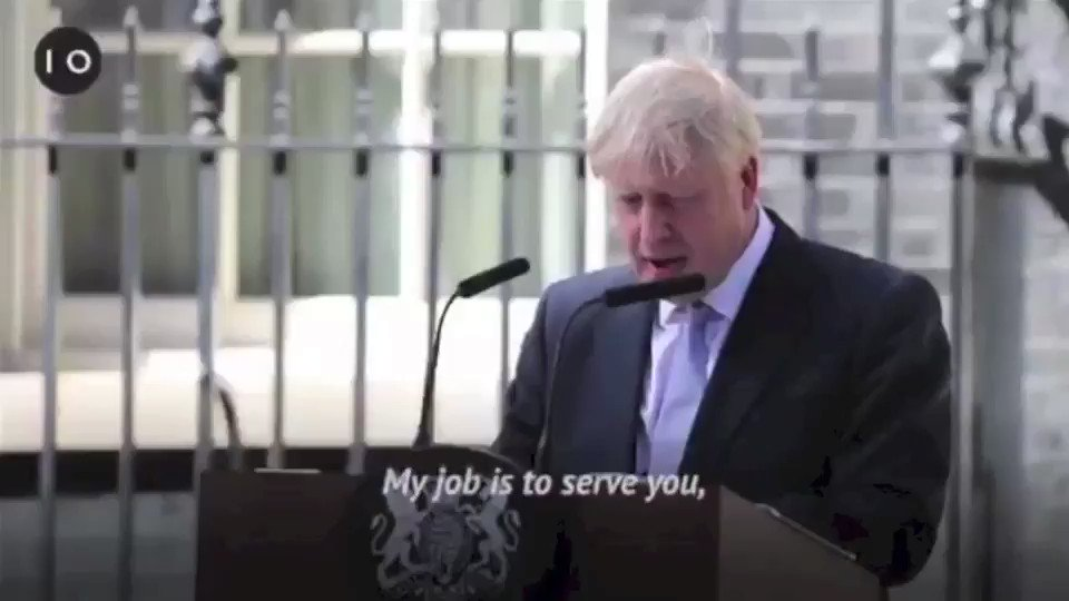 Image for the Tweet beginning: Fool me once... Vote Leave, having
