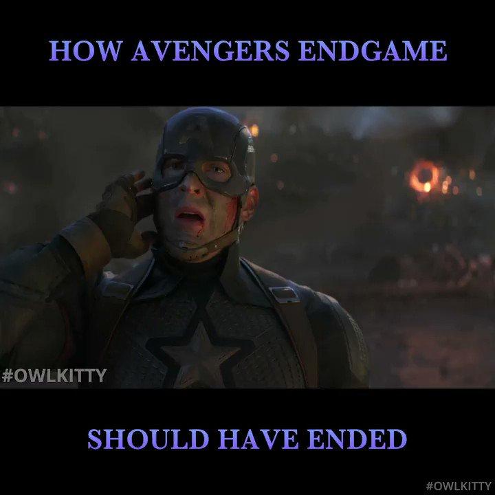 The only avenger we need #owlkitty #AvengersEngame