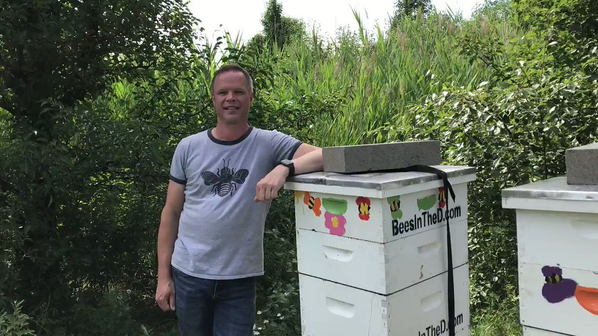 #DYK that BorgWarner sponsors and hosts two #honeybee hives in Metro Detroit? We bee-lieve that bee conservation is extremely important to the health of the environment. Thank you @BeesintheD for shepherding this initiative! #NationalHoneybeeDay
