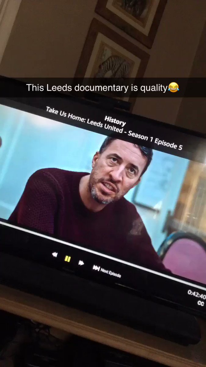 This Leeds documentary is quality😂#hcafc #lufc