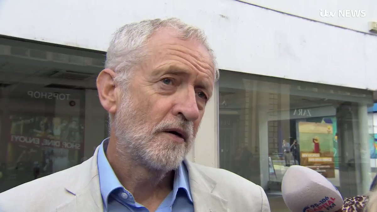 Jeremy Corbyn says hes the leader of the Opposition and should be the one to lead a unity government bit.ly/2ZarQMo